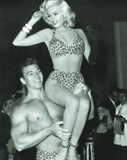 Jayne Mansfield and Mickey Hargitay UNSIGNED photo - L8361 - NEW IMAGE