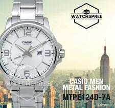 Casio Men's Analog Watch MTPE124D-7A MTP-E124D-7A