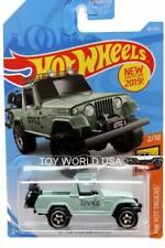 2019 Hot Wheels #84 Hw Hot Trucks '67 Jeepster Commando