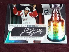 08-09 The Cup Henrik Zetterberg 20/50 Stanley Cup Signatures Autograph L@@K!!!