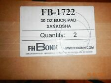 Fh Bonn Fb-1722 30 Oz Buck Pad set of 2