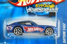 HOT WHEELS JAPANESE CARD #08 - DATSUN 240Z - BLUE