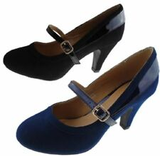 Fiore Women's Faux Suede Court Shoes for Women