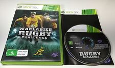 GENUINE MICROSOFT XBOX 360 GAME | RUGBY LEAGUE CHALLENGE - WALLABIES | COMPLETE