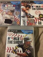MLB The Show 11, 12, and 13 Bundle - PS3