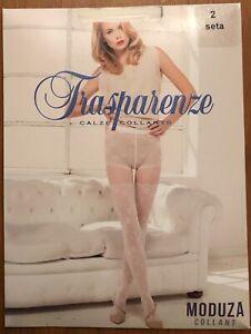 Gorgeous Trasparenze Moduza Tights Pantyhose Seta Size 2