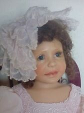 Rosebud Polymer Resin Limited Edition Doll by Diane Keeler #10 of 2,000 w/Chair