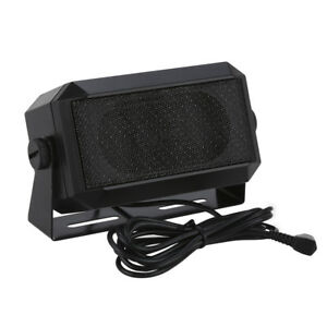 RoadPro RPSP-15 Externe Funk Lautsprecher 3.5mm Jack Universal Fr Yaesu Werkzeug