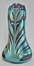 Beautiful KRALIK Iridescent Cameo Art Glass Vase c.1900-1910 Loetz Era RareDecor