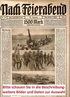 1918 Zeitschrift 1. Weltkrieg WW1 Soldaten Luftwaffe Flugzeug Panzer Armee Heer.