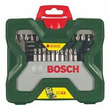 ORIGINALE Bosch X43 43 bit in Metallo/Legno Trapano Set 2607019613 3165140452502 V