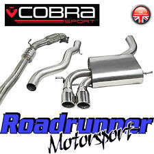 "Cobra Audi S3 2.0 3"" Turbo Back Exhaust System Stainless Non Res Inc Cat 3 Door"