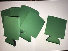Koozie Lot  Green 6 Pack Pick Any Colors Coozie  Blank Collapsible