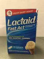 LACTAID Fast Act Chewables Vanilla Twist 60 Tablets