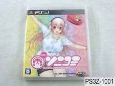 Motto SoniComi Super Sonico Playstation 3 Japanese Import PS3 Japan US Seller A