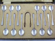 Birmingham 1900-1940 Antique Solid Silver Spoons