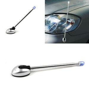 1x Vehicle Bumper Corner Pole Car Accessories Aluminum Antenna Adjustable Angle
