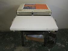 RENZ SUPER 500 PAPER PUNCH 4-1 OVAL DIE - LIKE JAMES BURN OR SICKENGER OR GBC