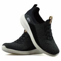Womens Skechers Slip On Memory Foam Running Walking Sports Trainers Shoes Size