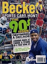 JUNE 2012 THE 90's ISSUE BECKETT SPORTS CARD MONTHLY MAGAZINE - NEAR MINT