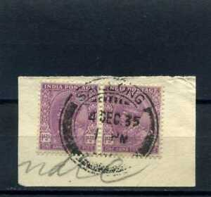 INDIA , 'frag cover''>GEORGE V ''  >DIC 4  1935> TO   U.S.