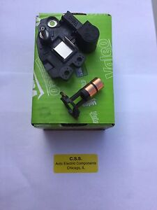BMW 545i, 645ci, X5 Valeo OEM Alternator Voltage Regulator and slip rings