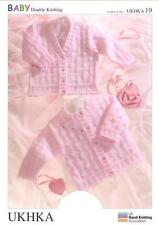 Double Knitting Pattern Cardigans Wool 0 To 6 Years Baby Items 41-66cm 16-26 in.