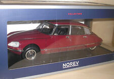 Citroen DS23 rotmetallic (rouge Massena) 1973 in 1:18 von Norev