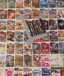 Nintendo Wii Games - Various Wii Game - Multi Buy Bundles Discounts PAL FREE P&P