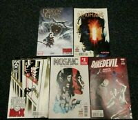 2016 Daredevil #12,Uncanny Inhumans #5, Punisher Max, Mosaic, Dragon Guard