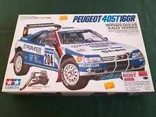 Peugeot 405T16GR '89 Paris-Dakar Winner - Tamiya 1/24   ITEM 24092