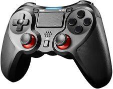 CONTROLLER JOYPAD PER PS4 PLAYSTATION 4 E PC JAMSWALL NUOVO WIRELESS NERO