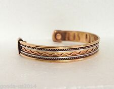 Copper With Magnet kada/bracelet good health reliving arthritis/rheumatic