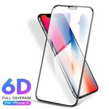 6D Fully Covered Tempered Film For iPhone X Xs Max Mobile Phone Protective Glass