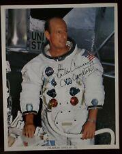 "Charles ""Pete"" Conrad signed Nasa 8x10 photo, Apollo12 moonwalker, Jsa Aloa"