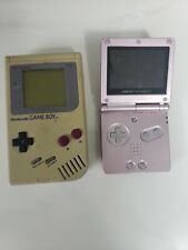 Nintendo Gameboy And Gameboy Advance SP Rare Pearl Pink! Vintage *READ...