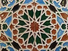 2 Azulejos Triana Sevilla Principio Siglo XX mm 275x136x12 cada