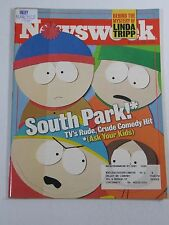 Newsweek Magazine- South Park! TV's Rude, Crude Comedy Hit- March 23,1998
