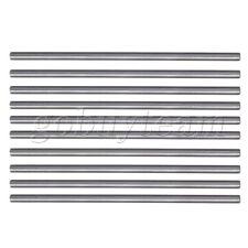 10pcs 3.5mm Diameter 100mm Length Boring Tool Round Turning Lathe Bars Silver