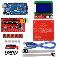 3D Printer Kit Ramps1.4 Mega2560 MK2B Heatbed 12864 LCD A4988 for Arduino Reprap