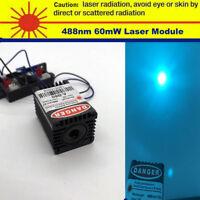 Sharp 488nm 60mW Mint-Blue Laser Module/Built by 488nm Laser Diode/TTL