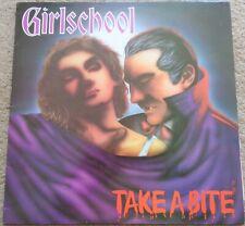 Girlschool - Take A Bite 1988 vinyl LP