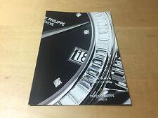 Booklet PATEK PHILIPPE New Model 2005 - Calatrava Ref. 5118 - All Languages