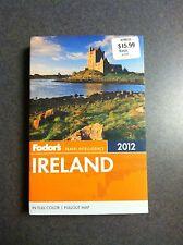 Ireland Fodor's Travel Intelligence 2012 Full Color Maps Paperback