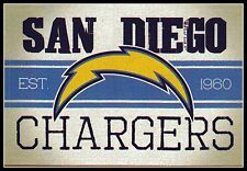SAN DIEGO CHARGERS VINTAGE TEAM LOGO FOOTBALL NFL DECAL STICKER~BOGO 25% OFF