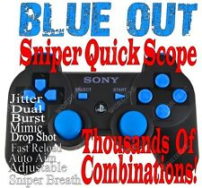 PS3 Modded rapid fire controller Black Ops 2 COD MW3 Drop Shot Jitter Dual MW3 B