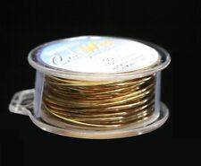 GOLD  NON TARNISH 24GA WIRE 30FT. PRO-QUALITY