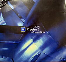 2004 GM North American Product Information Guide