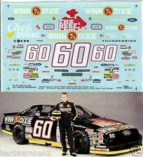 NASCAR DECAL #60 WINN DIXIE 1994 BGN FORD THUNDERBIRD MARK MARTIN SLIXX