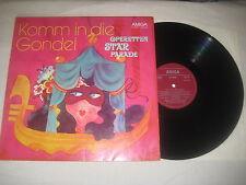 Komm in die Gondel - Operettenstarparade 1   Vinyl  LP Amiga 1974